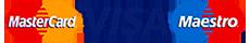 Прием оплаты Visa-MasterCard